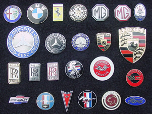 Click to Visit our Horn Button Gallery Alfa Romeo, Ferrari, Jaguar, Rolls Royce, Sterling, Ford Mustang, Chevy, Cougar, Ford, Mercury